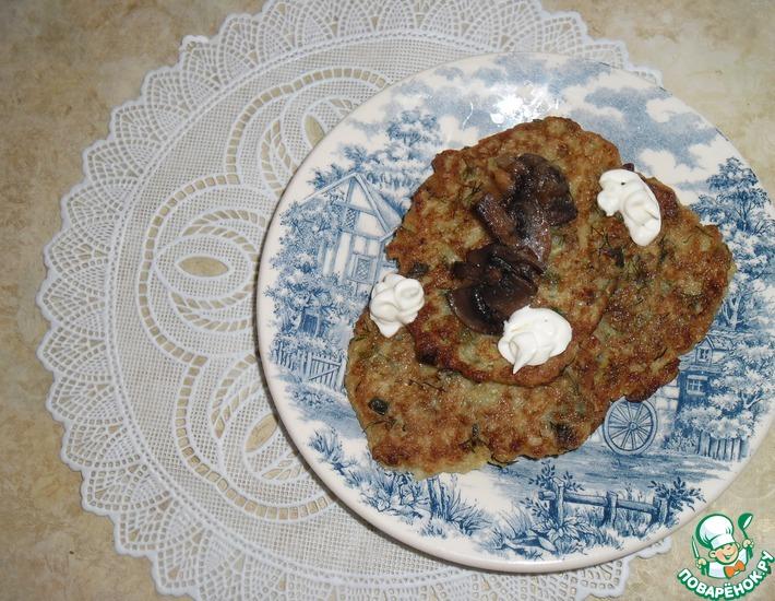Рецепт: Деруны кабачковые
