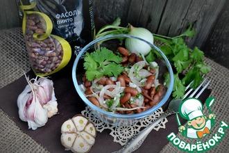 Рецепт: Простейший салат из фасоли