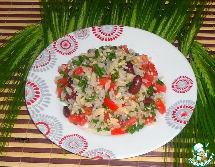 Рецепт: Салат Санта Фе