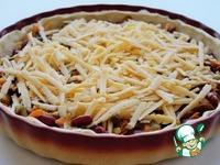 Пирог с фасолью, грибами и сыром ингредиенты