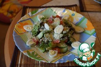 Рецепт: Легкий овощной салат Любимый
