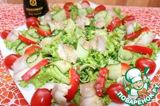 Рецепт: Салат с угрём