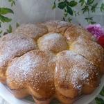 Сахарно-шоколадные булочки на закваске