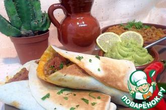 Рецепт: Буррито Вкус Мексики-Рохо