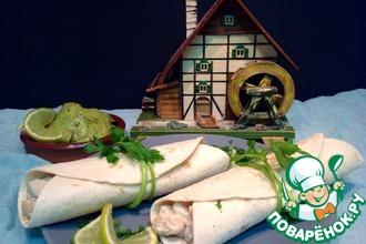 Рецепт: Буррито Вкус Мексики-Бланко