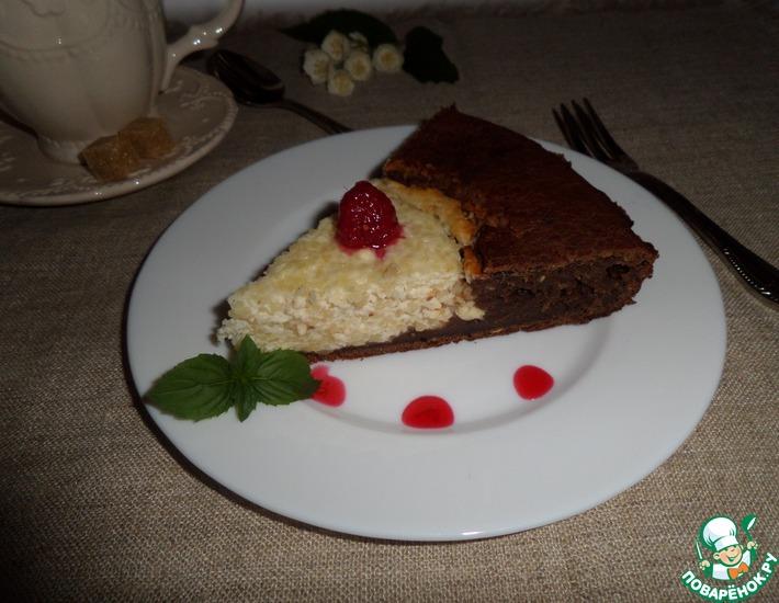 Рецепт: Пирог А-ля ватрушка