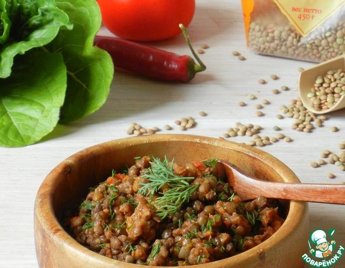 Чечевичное рагу с пряностями – кулинарный рецепт