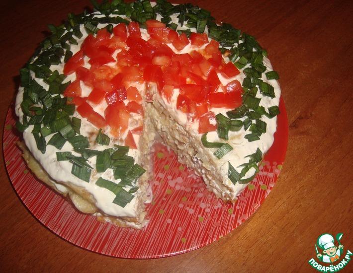 Рецепт: Картофельный торт