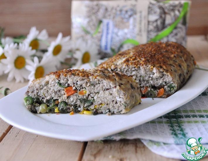 Рецепт: Рыбный рулет с рисом и киноа