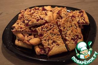 Рецепт: Венское печенье с джемом
