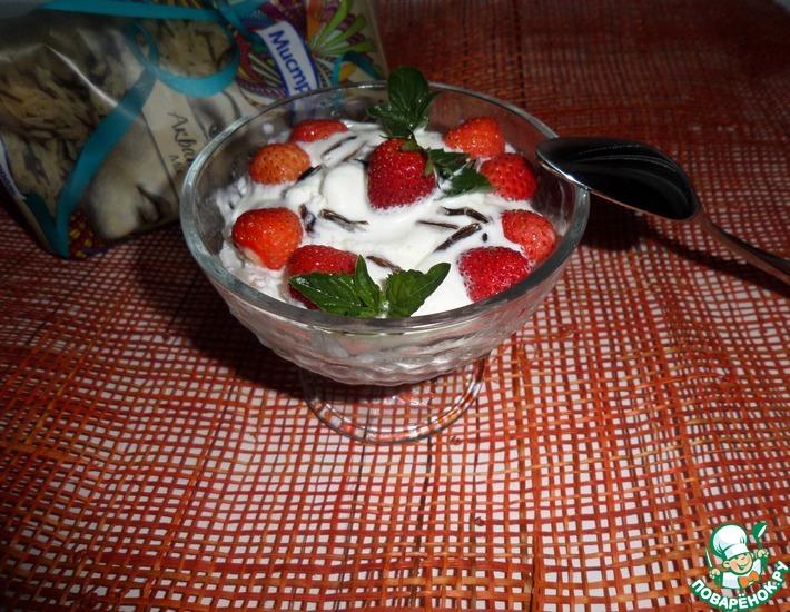 Рецепт: Десерт с рисом