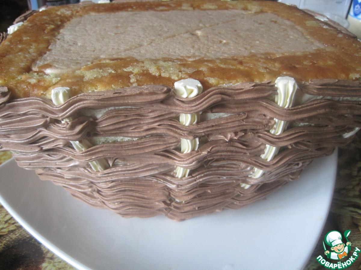 """Торт """"Корзина"""" с лесной земляникой"""