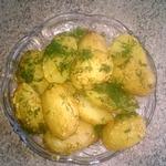 Запечённый молодой картофель с горчицей в мультиварке