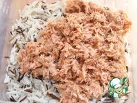 Рисовые шарики с тунцом и сливочным сыром ингредиенты