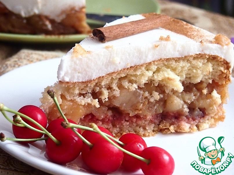 """Торт """"Яблочная свежесть"""""""