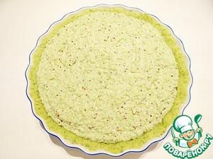 Пирог с брокколи, киноа и сыром – кулинарный рецепт