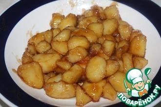 Рецепт: Картофель в кисло-сладком соусе