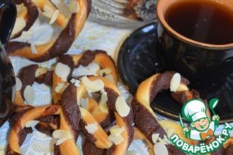 Рецепт: Крендельки к кофе