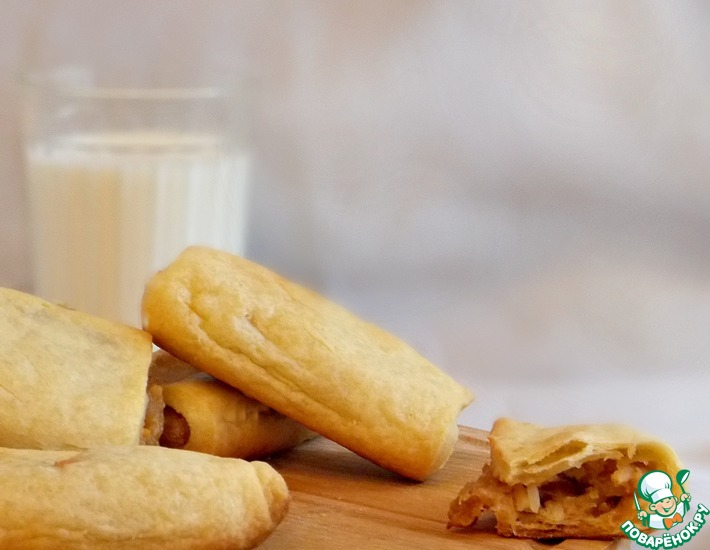 Рецепт: Слоеные пирожки Ха-тасон