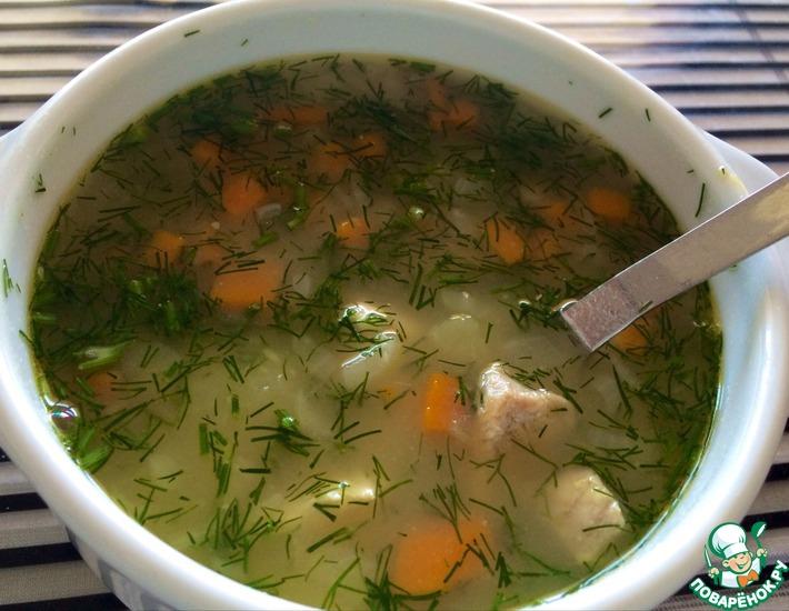 Рецепт: Гороховый суп со свининой