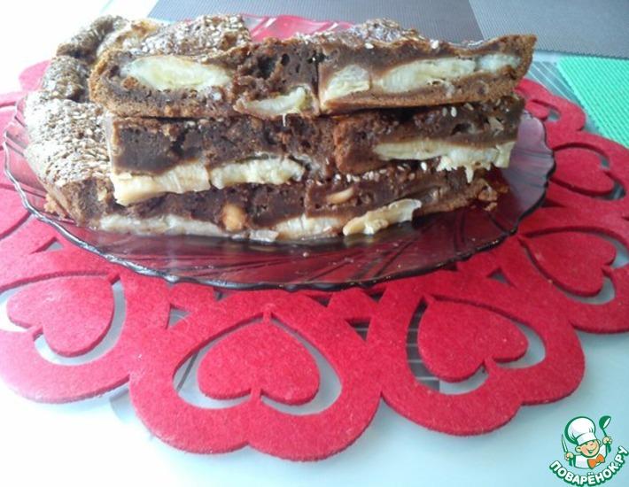 Рецепт: Десерт Шоколадные бананы