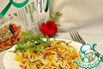 Рецепт: Ананасово-овощной рис
