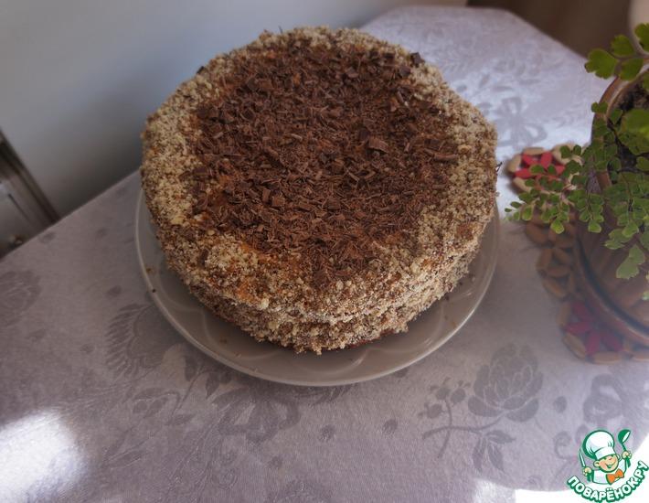 Рецепт: Торт Мужской идеалс орехами