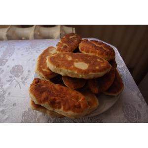 Жареные пирожки с картофелем