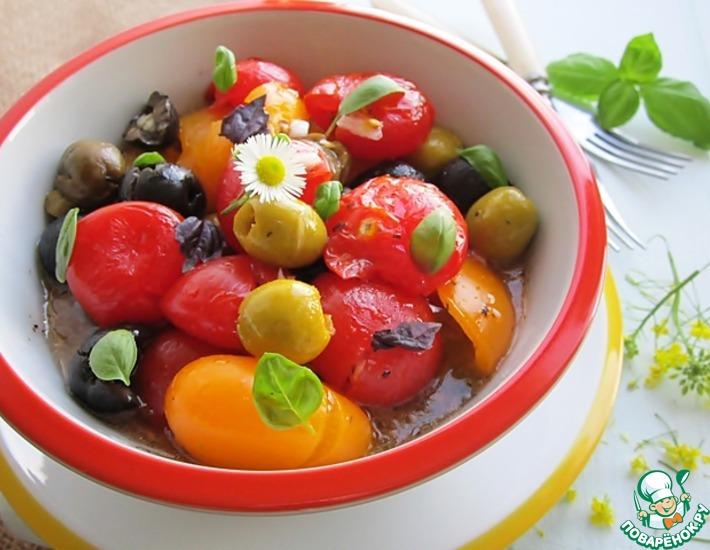 Рецепт: Расплющенный салат