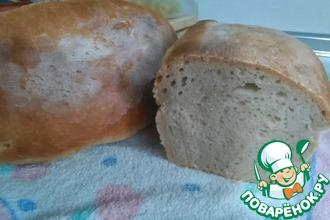 Рецепт: Домашний пшеничный хлеб