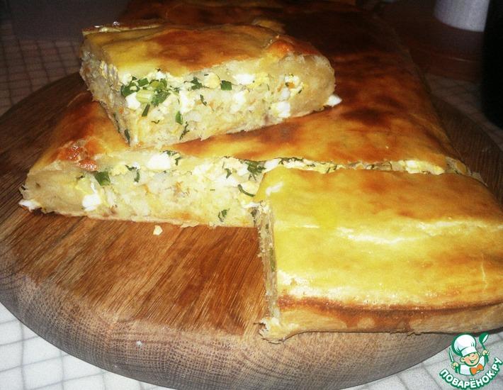 Рецепт: Пирог с минтаем