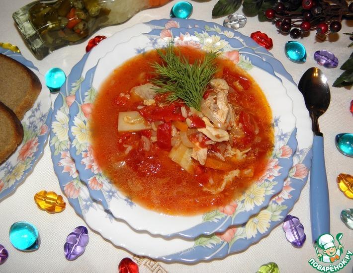 Рецепт: Куриный суп Приглашаем на обед!