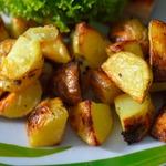 Запечённый картофель Минималистический