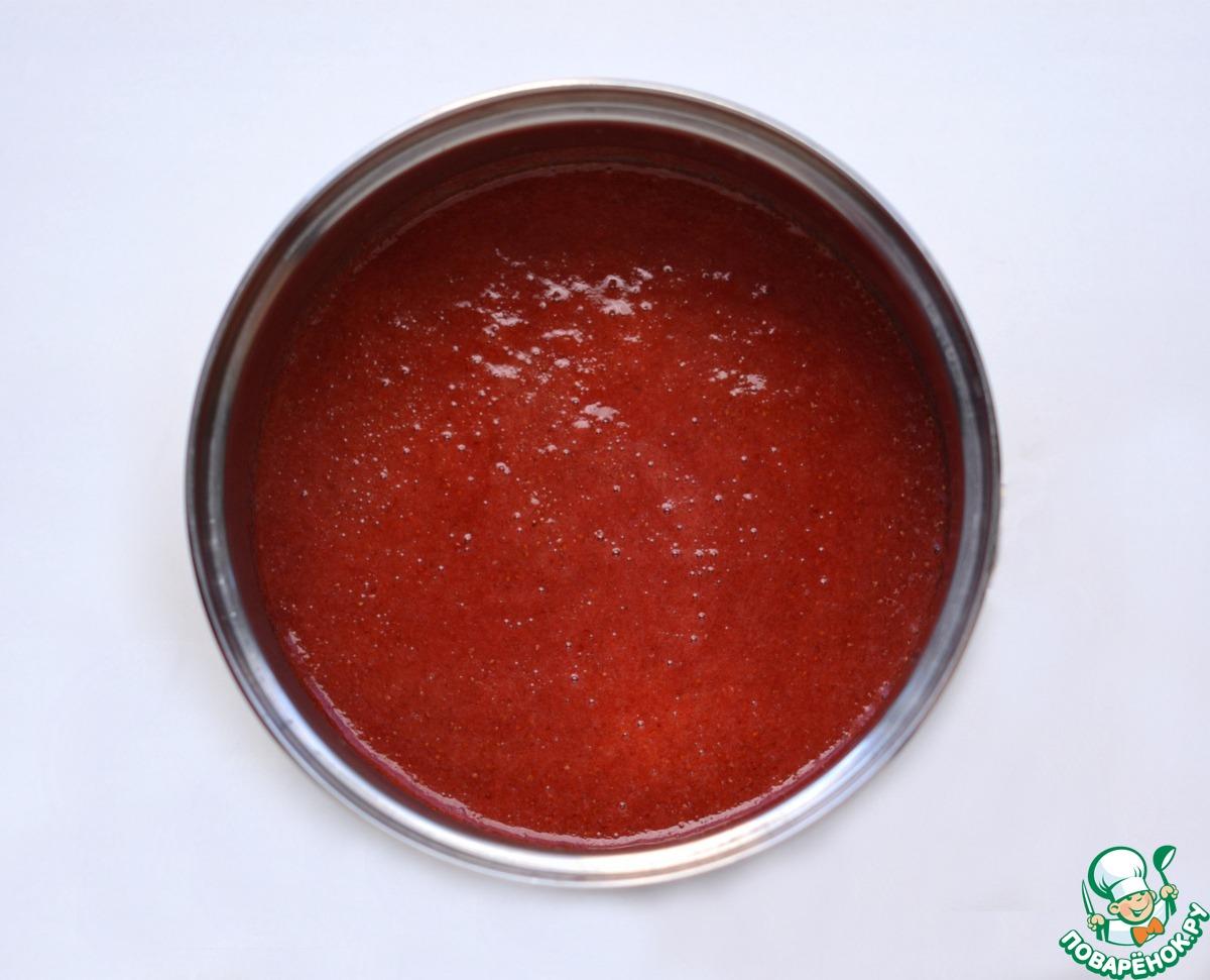 Рисовые макаруны с клубничным кремом