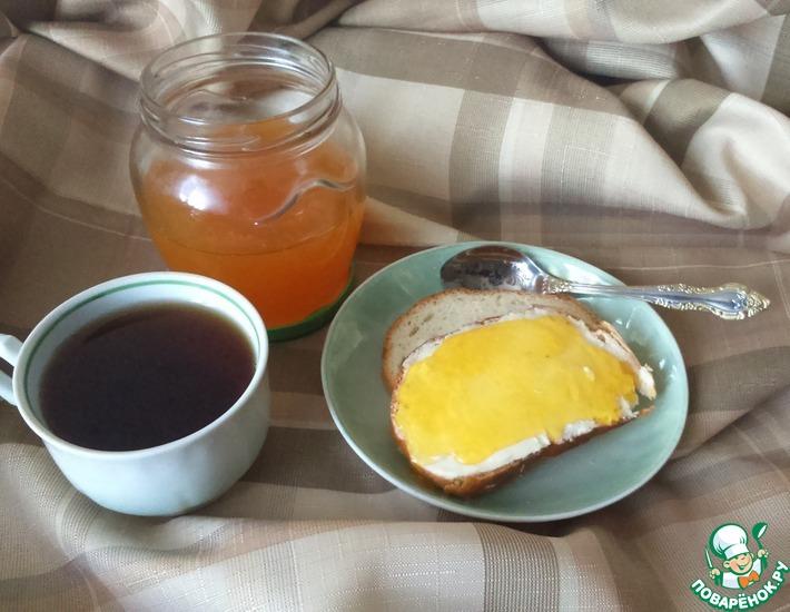 Рецепт: Апельсиновый джем в микроволновке