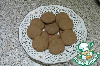 Рецепт: Гречневое печенье со вкусом миндаля