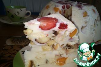 Рецепт: Крымский заливной торт