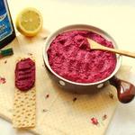 Паста из запеченной свеклы и фасоли – кулинарный рецепт