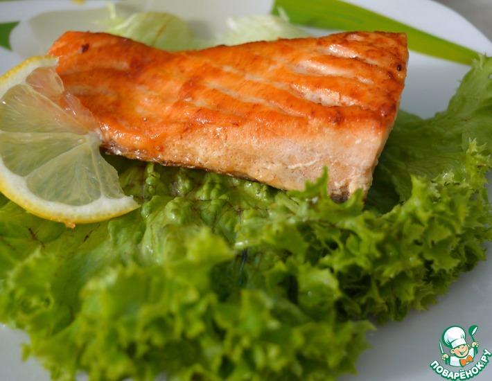Рецепт: Рыба по-японски