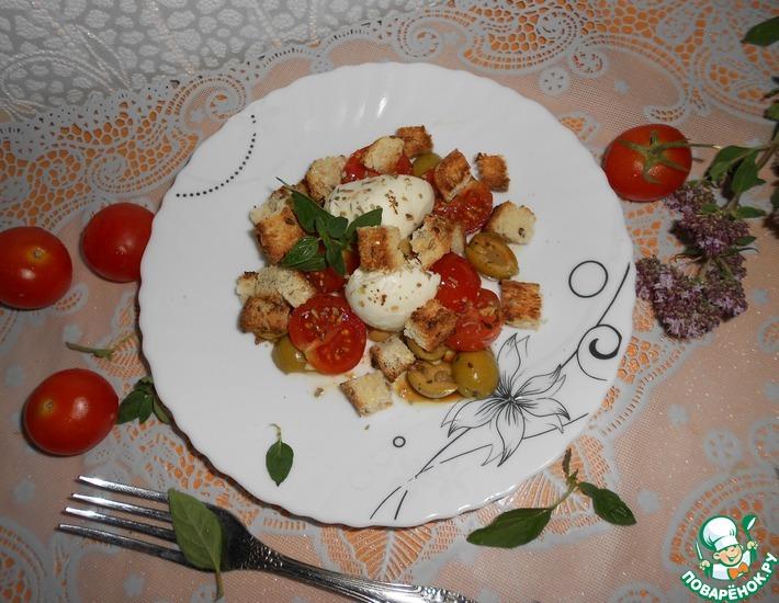 Рецепт: Быстрый пикантный салат