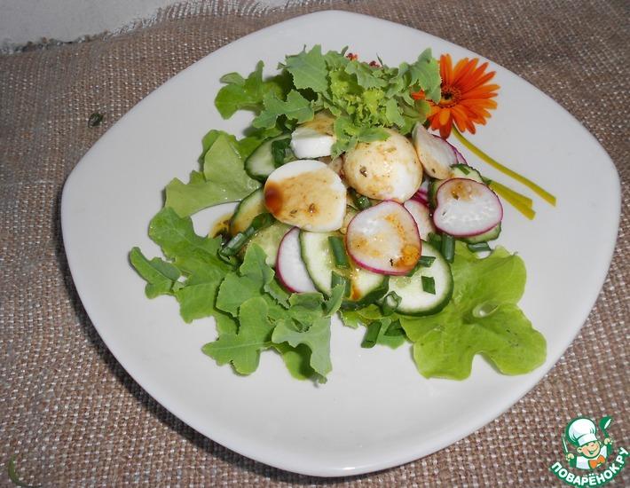 Рецепт: Летний салат