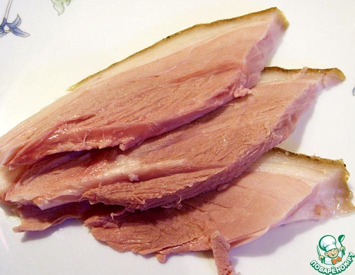 Рецепт: Свиная рулька долгого томления