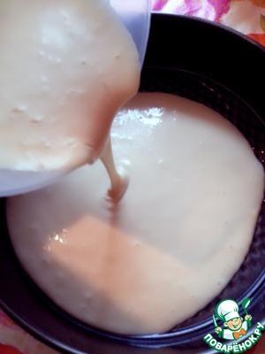 Выливаем наше тесто в смазанную маслом форму и отправляем в разогретую 160*С духовку.