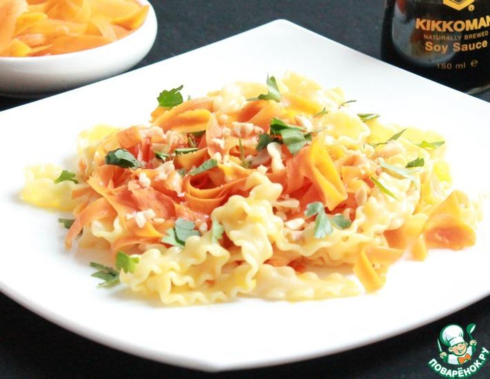 Рецепт: Паста Морковка