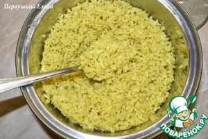 The finished rice should be slightly dry, Golden and crispy. If you get another, do not worry - it will be very tasty!