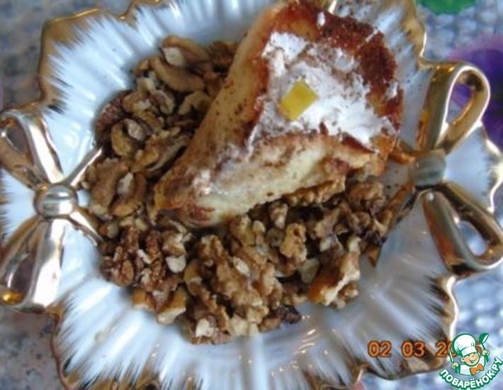 Рецепт: Пирожное Каллы