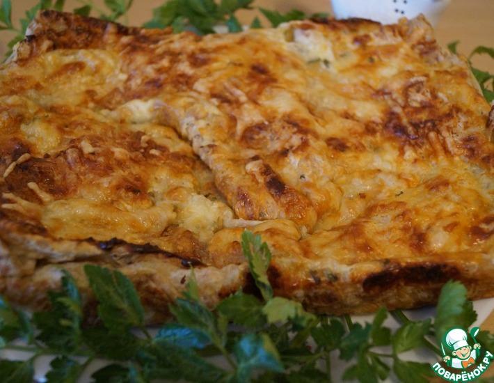Рецепт: Пирог из лаваша Пикантный