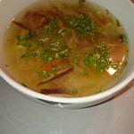 Суп из квашеной капусты и соленых грибов