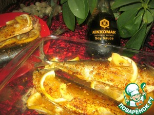 After the specified time take out fragrant and tasty fish and enjoy!