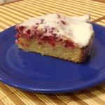 Брусничный пирог 10 ложек